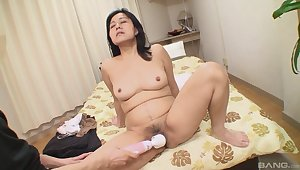 Mako Anzai gets her hibernate burger played with and fucked hard