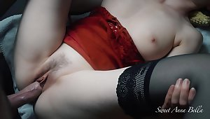 I Get Fucked Overwrought A Big Cock While I Play At hand My Constant Clit And I Shot An Orgasm - Sweetannabella