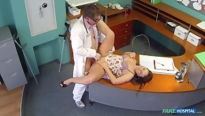 Doctors physicality injection eases curvy patients back pain
