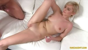 Agent Specialization Short Haired Blondie A Role On His Fat Cock